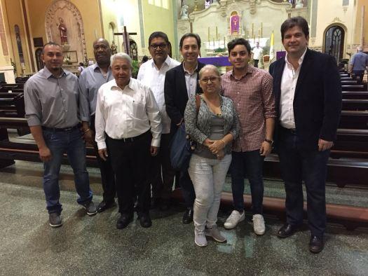 Se efectuó misa en honor a Gilberto Mendoza en Panamá