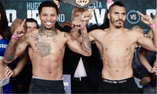 Davis and Cuellar Make Weight. Photo: Marcelino Castillo.