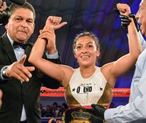 Meet Jessica Nery Plata, the WBA Interim Light Flyweight Champion
