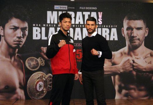 Murata y Blandamura tuvieron su rueda de prensa