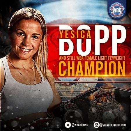 "Yesica ""Tuti"" Bopp Wins Her 21st Title Defense"