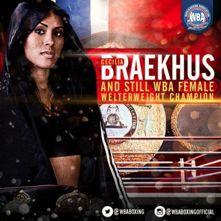 Braekhus Survives Scare to Beat Reis.