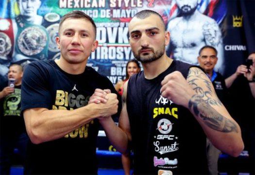 Golovkin and Martirosyan Ready For Battle.