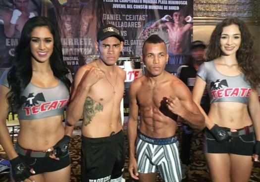 Navarrete and Sanmartin Weigh-in For WBA Elimination