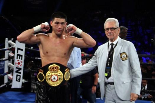 Dmitry Bivol WBA Light Heavyweight Champion