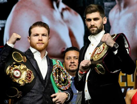 Canelo and Fielding meet at the Big Apple for press conference