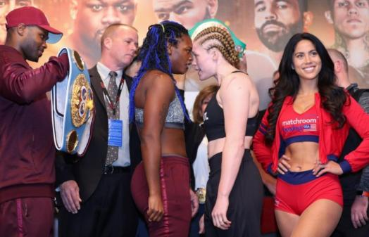 Shields and Rankin make weight for tomorrow