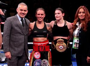 Brilliant defense by Katie Taylor at MSG