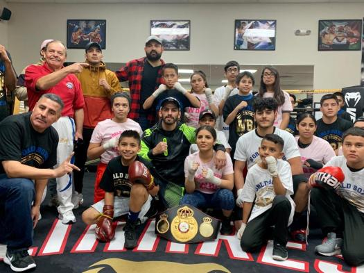 The WBA and Jorge Linares send a Christmas message to Las Vegas