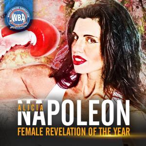 Alicia Napoleon is the WBA Female Breakout Fighter of the Year