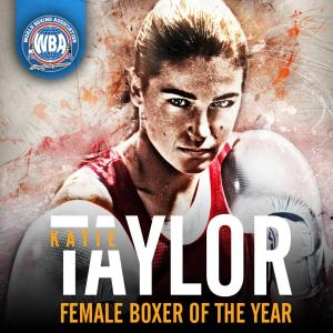 Katie Taylor female WBA Boxer of the Year