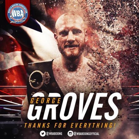 George Groves announces his retirement