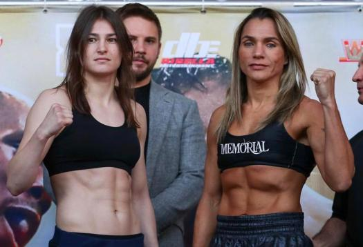 Taylor and Volante make weight in Philadelphia