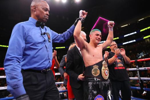 Diaz knocked out Fonseca and captured WBA gold title