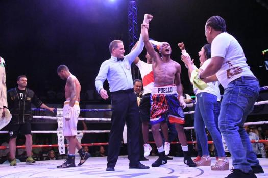 Six officials will work in the Dominican Republic boxing event