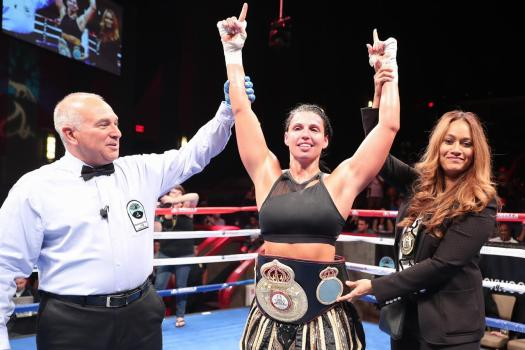 Napoleon successfully defends her belt in Connecticut