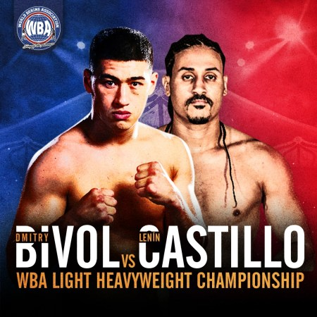 Bivol will defend his WBA World Title against Castillo this Saturday