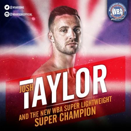 Josh Taylor beats Prograis for WBA Super Title and Muhammad Ali Trophy