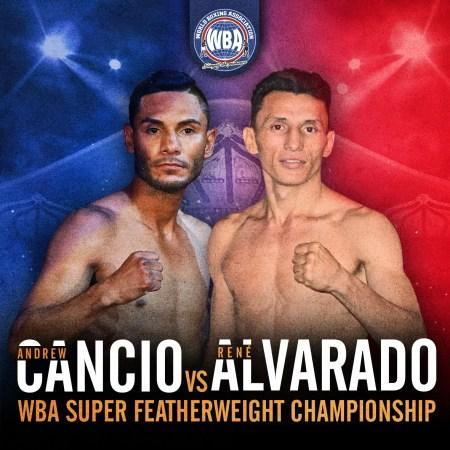 Xu vs Robles and Cancio vs Alvarado WBA title fights headline Fantasy Springs Casino bouts