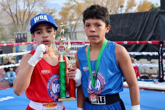 Las Vegas welcomed the Future WBA Champions