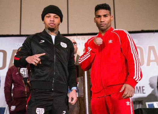 Gervonta and Yuriorkis face to face in Atlanta
