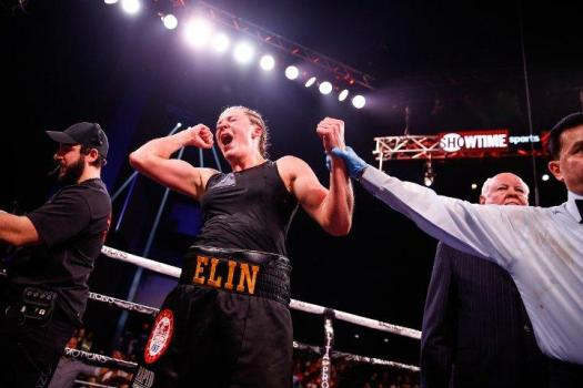 Elin Cederroos. From soccer player to world boxing champion