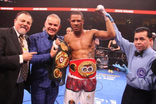 Rosario Knocked Williams Out and Takes the SuperChampion belt to Dominican Republic