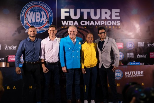 "Everything is ready for ""Future WBA Champions"" in Medellin"