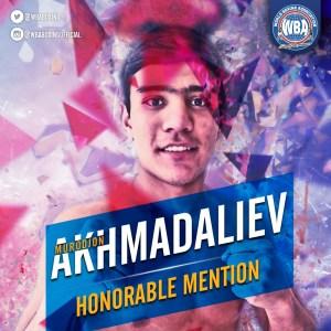 Murodjon Akhmadaliev– Mención honorífica AMB –Enero 2020