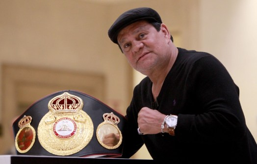 The WBA sends its best wishes to Roberto Durán
