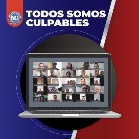 "The WBA presented ""Todos somos culpables"", the book about Tomás Molinares"