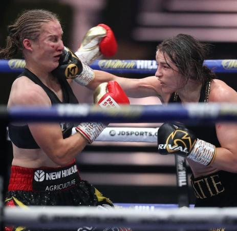 Female boxing shone in 2020