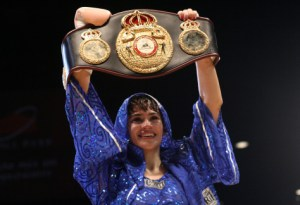 "Argentina's number one WBA Champion: Marcela ""La Tigresa"" Acuña"