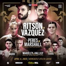Ritson-Vazquez to fight for the WBA Intercontinental title this Saturday
