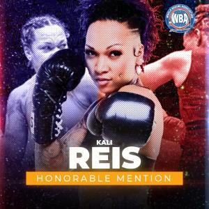 Kali Reis -WBA Honorable Mention November 2020