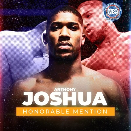 Anthony Joshua -WBA Honorable Mention December 2020