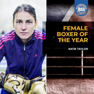 WBA names Katie Taylor Female Boxer of the Year