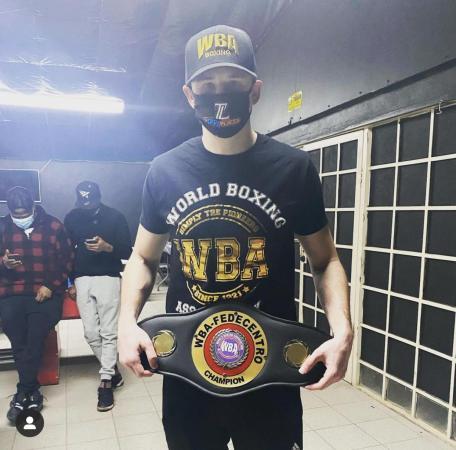 Lamanna nuevo campeón AMB-Fedecentro súper welter
