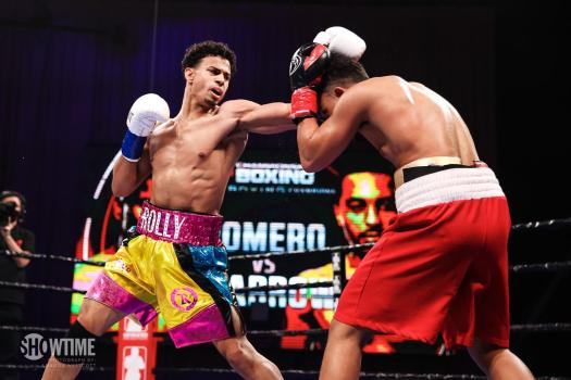 Rolando Romero beat Sparrow in Connecticut
