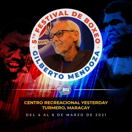 Boxing returns to Venezuela with the Gilberto Mendoza Festival