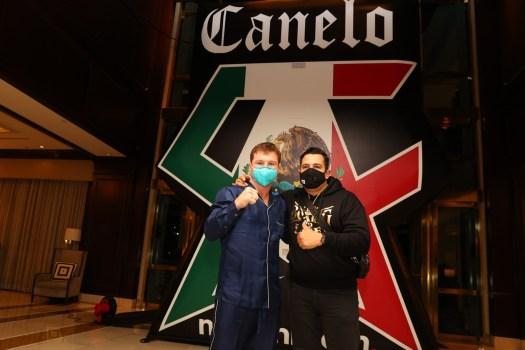 Álvarez y Yildirim ya están en Miami y se vieron las caras