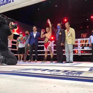 Yoohanngoh retained his WBA-Asia belt against Tatakhun