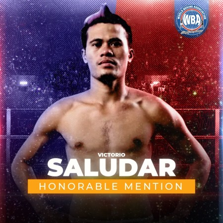Vic Saludar -WBA Honorable Mention February 2021