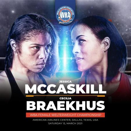 Jessica McCaskill wants to confirm her status as Welterweight queen