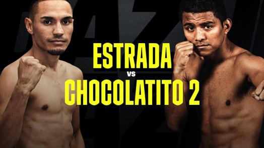 Numbers prior to Estrada-Chocolatito 2