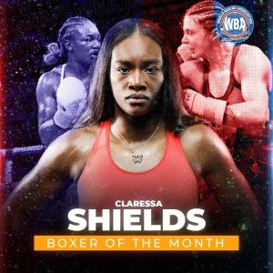 Claressa Shields  is WBA Female Boxer of the Month