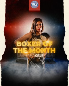 Cruz and Gabriels were awarded in April by the WBA