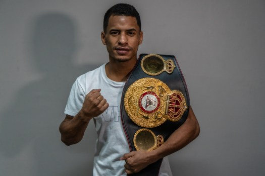 Cañizales is already in Mexico and ready to fight