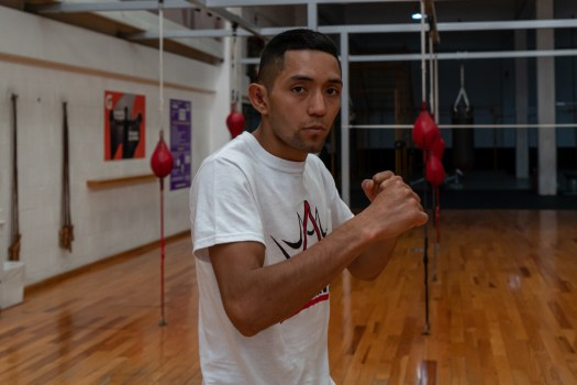 Esteban Bermudez, the hunger to be WBA Champion
