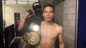El zurdito Ramírez es el nuevo campeón interino pluma WBA
